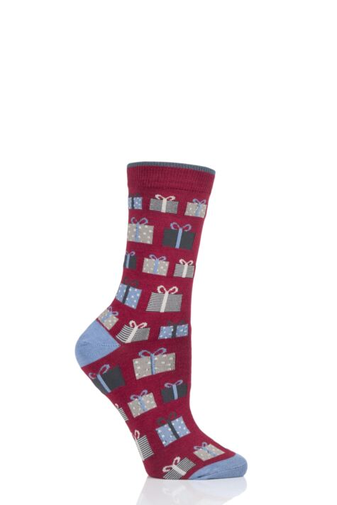 Ladies 1 Pair Thought Gift Bamboo and Organic Cotton Socks Product Image