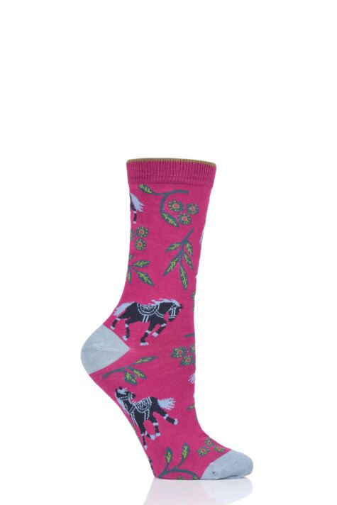Ladies 1 Pair Thought Filly Bamboo and Organic Cotton Socks Product Image