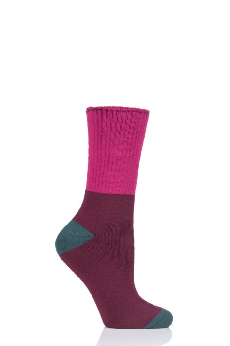 Ladies 1 Pair Thought Walker Bamboo and Organic Cotton Walking Socks Product Image