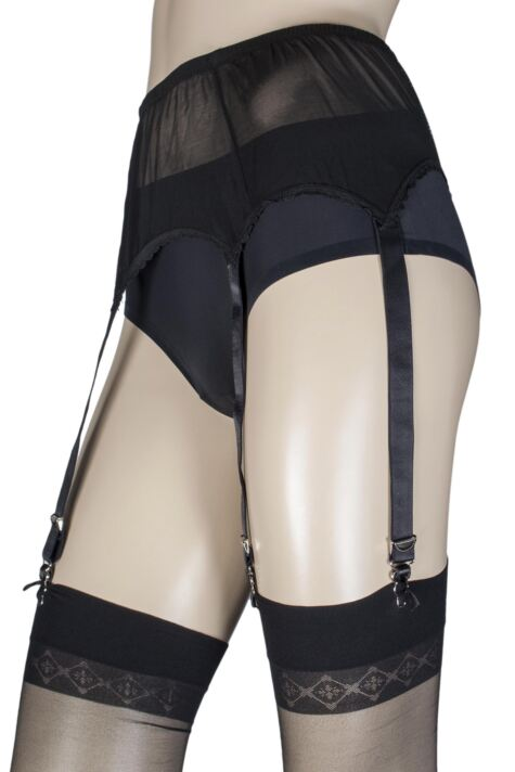 Ladies Couture Six Strap Suspender Belt Product Image