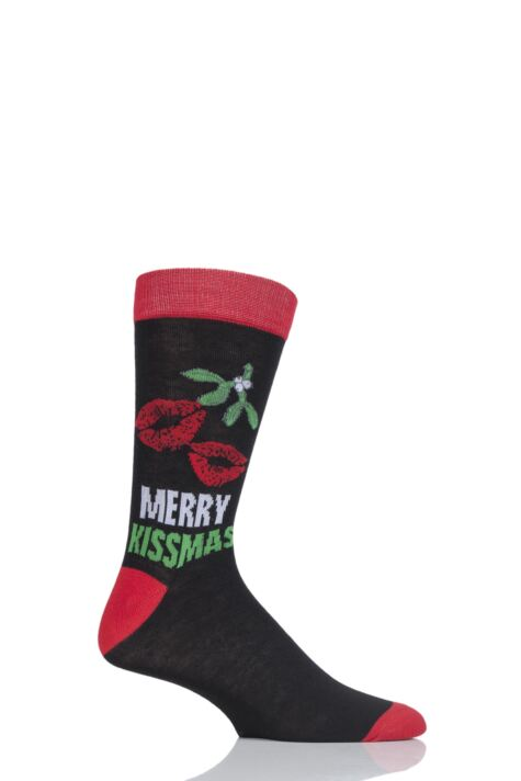 Mens 1 Pair SOCKSHOP Christmas Novelty Socks Product Image