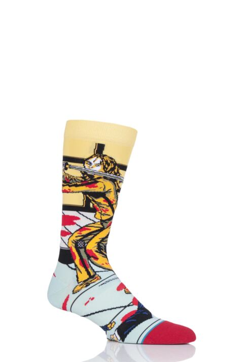 Mens and Ladies 1 Pair Stance Quentin Tarantino Collection The Bride and Gogo Kill Bill Socks Product Image