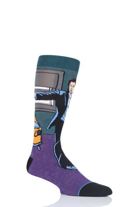 Mens and Ladies 1 Pair Stance Quentin Tarantino Collection Vincent and Jules Pulp Fiction Socks Product Image