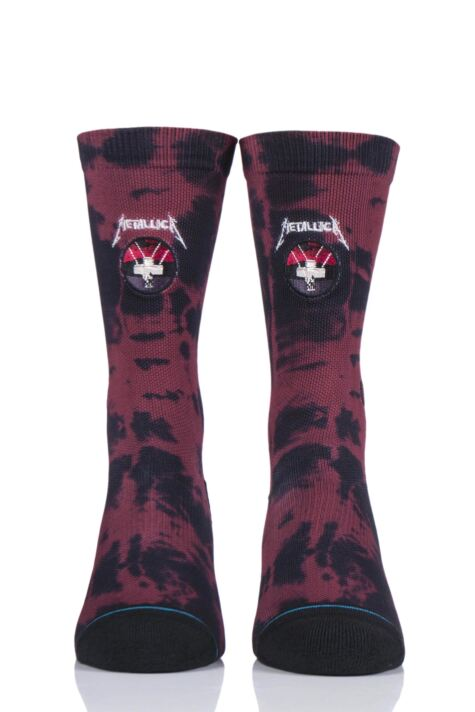Mens 1 Pair Stance Metallica Collaboration Master of Puppets Socks Product Image