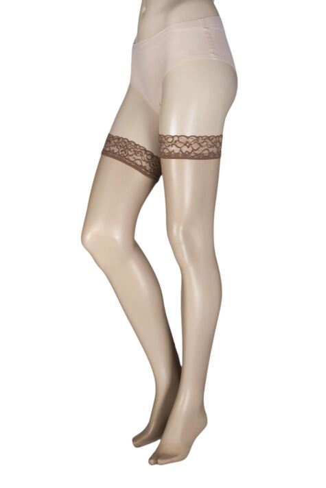 Ladies 1 Pair Oroblu Chic Up 15 Denier Hold Ups Product Image