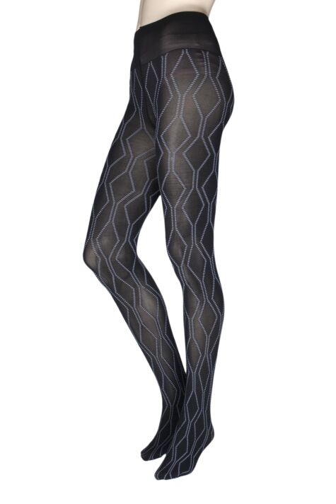 Ladies 1 Pair Oroblu Graphic Tribal 80 Denier Tights Product Image