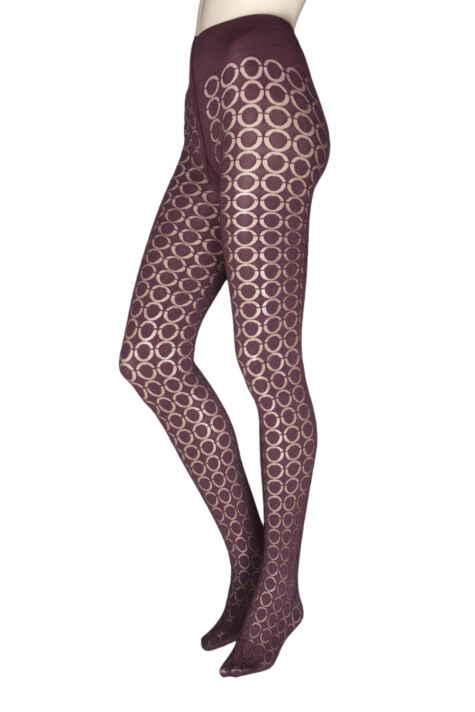 Ladies 1 Pair Oroblu Graphic Loop 80 Denier Tights Product Image