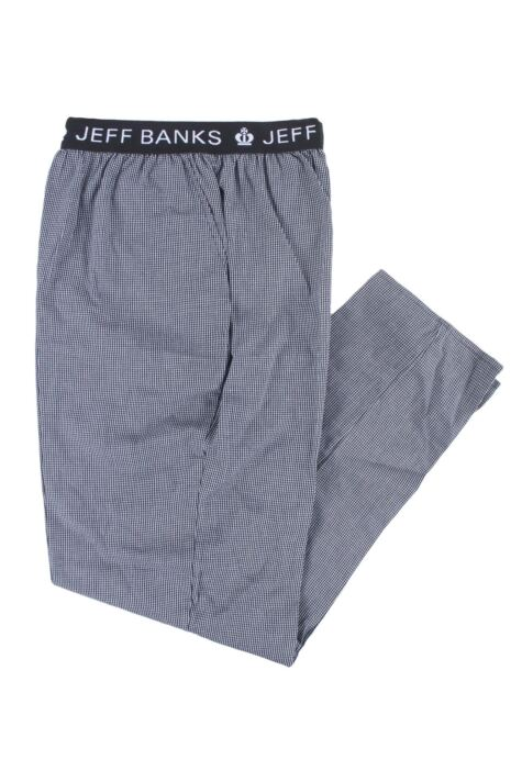Mens 1 Pair Jeff Banks Full Length Woven Lounge Pants Product Image