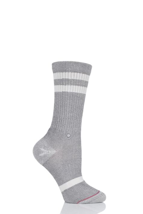 Ladies 1 Pair Stance Classic Uncommon Crew Cotton Socks Product Image