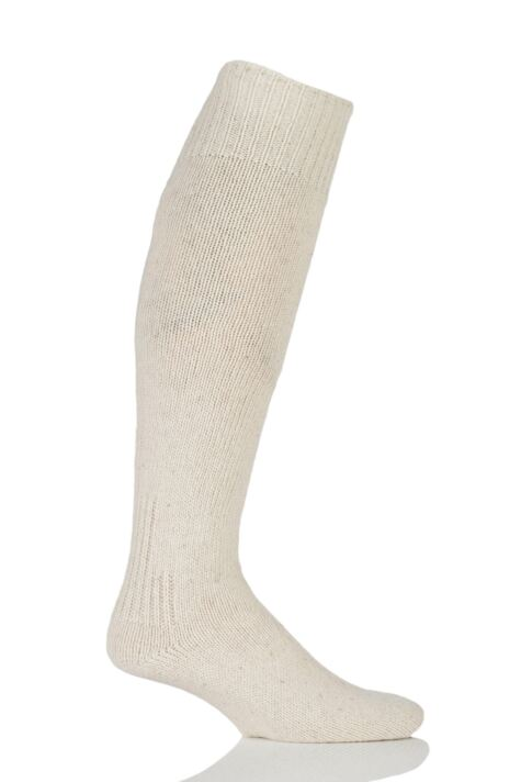 Mens 1 Pair Workforce Wool Rich Protective Angling Socks Product Image