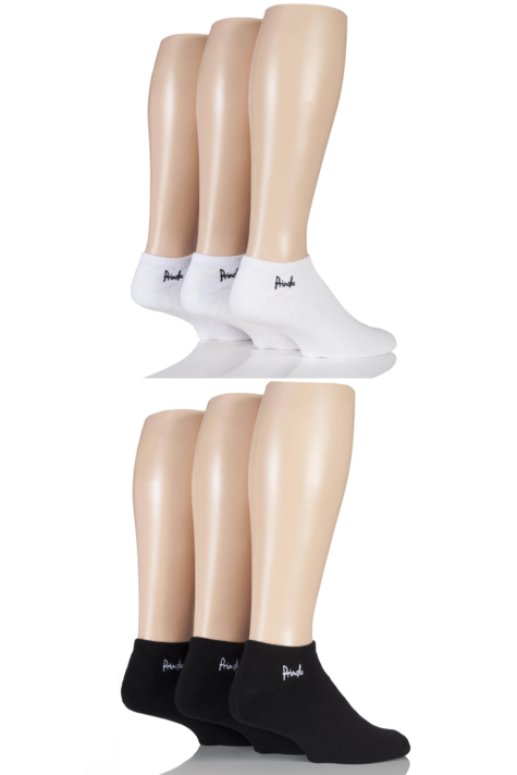 Mens 6 Pair Pringle Full Cushion Sports and Trainer Socks Product Image