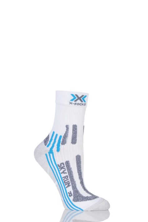 Ladies 1 Pair X-Socks Sky Run 2.0 Running Socks Product Image