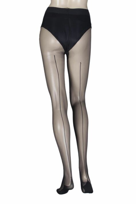Ladies 1 Pair Calvin Klein Ultimate Sexy Sheer Back Seam Tights Product Image