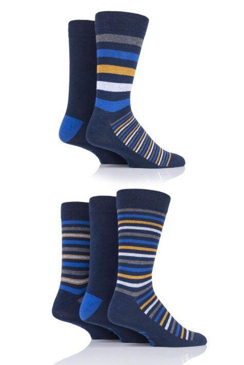 Mens 5 Pair Jeep Patterned Socks Product Image