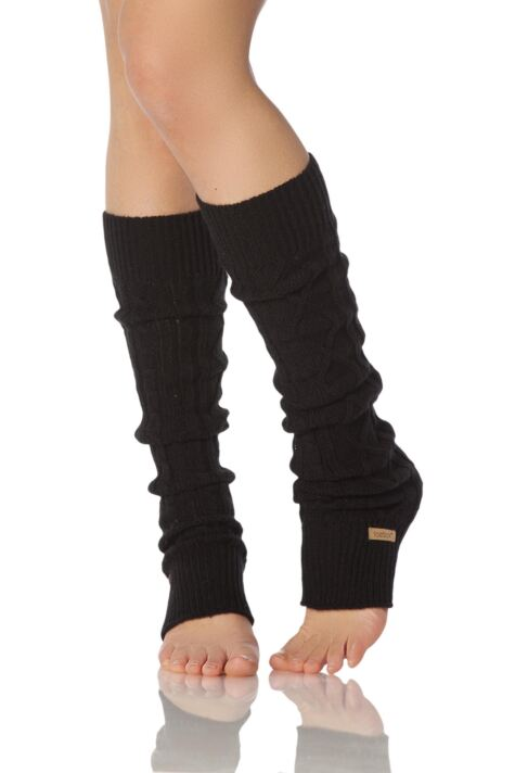 Ladies 1 Pair ToeSox Dance and Yoga Legwarmers Product Image