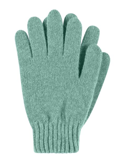 Ladies 1 Pair Great & British Knitwear Made In Scotland 100% Lambswool Gloves Product Image