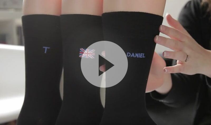 Men's SockShop personalised socks from SockShop