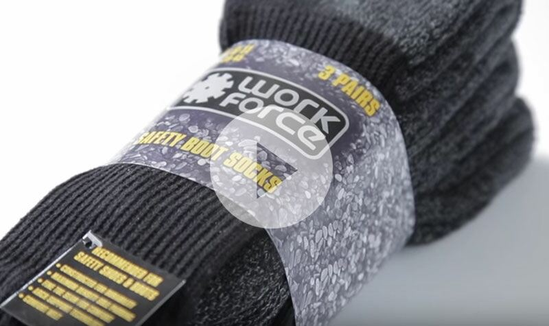 The Workforce Safety Boot Socks at SockShop