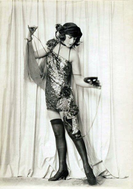 Flappers used 'revealing' stockings as a sign of their liberation