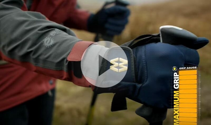MacWet Gloves In Action - Ideal for Hiking