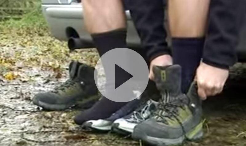 SealSkinz Socks... Great For Waterproof Walking
