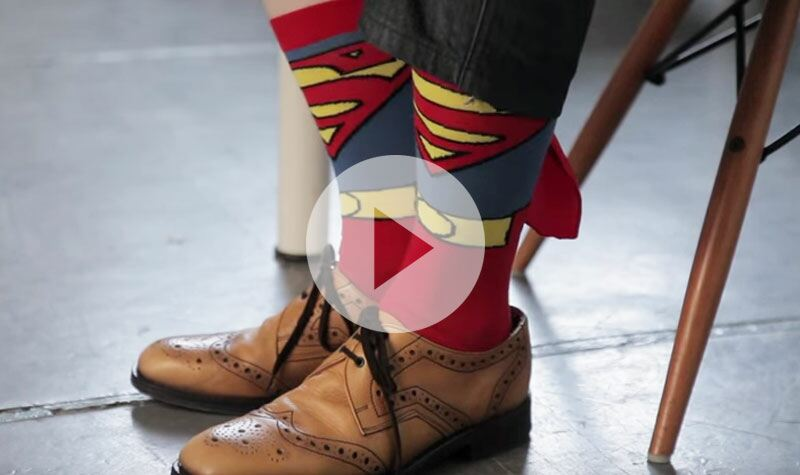 SockShop Superman Cape Socks