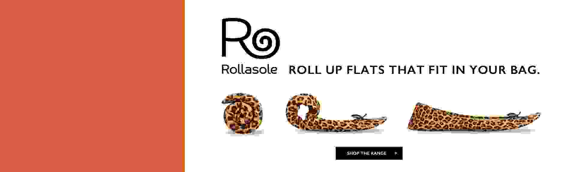 Rollasole Roll Up Flats >