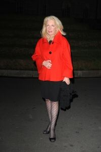 Amanda Nevill wows in spotty tights