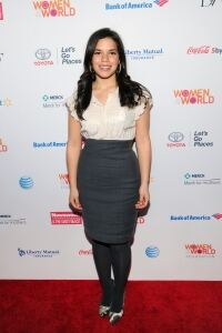 America Ferrera in secretary chic
