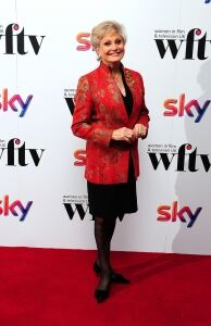Angela Rippon reveals her tights