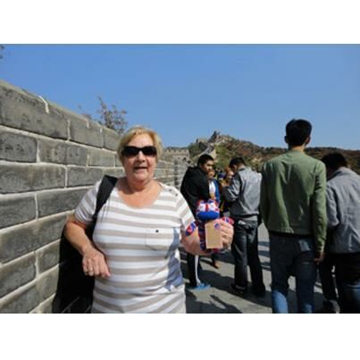 SockMonster - Great Wall fof China