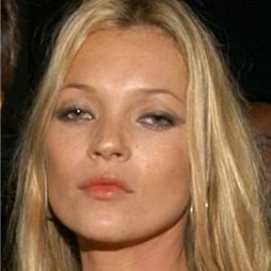 Kate Moss and the highland hosiery