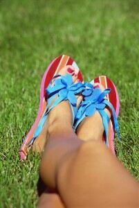 Healthy feet are 'down to legwear'