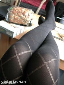Purple is 'perfect' colour for tights