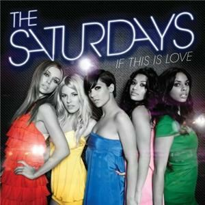 The Saturdays star it's very risque in stockings and suspenders