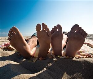 Smelly feet can be 'sorted out with socks'