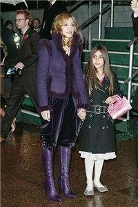 Madonna's daughter proves style in tights
