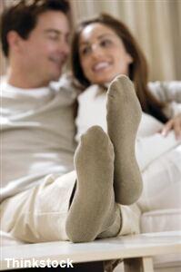 Sock buyers may be looking online