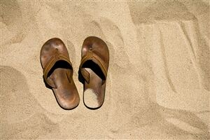 Did the Romans bring the socks and sandals taboo to the UK?