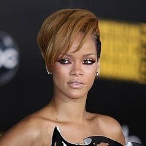 Rihanna socks turn blue