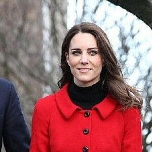 Kate Middleton all grown up in sheer tights