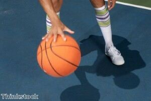 Basketball players charged with sock theft