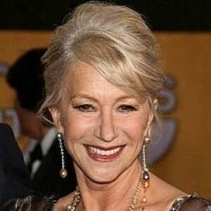 Helen Mirren keeps it classy in black tights