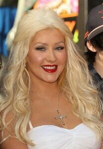 Christina Aguilera misfires in fishnet tights