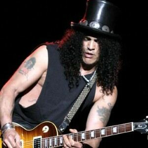 Slash 'pilfered' signature top hat