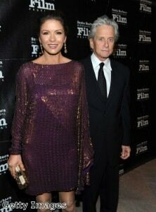 Michael Douglas caught wearing Catherine Zeta-Jones' underwear