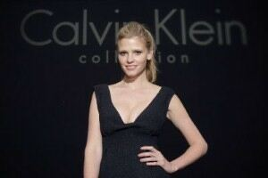 Lara Stone poses for sixth Calvin Klein underwear campaign