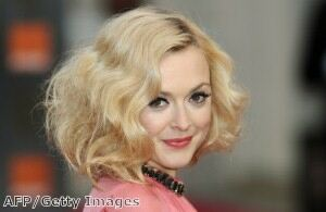 Pregnant Fearne Cotton heads to work in leggings