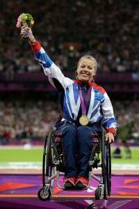 Paralympian Hannah Cockroft praises 'lucky socks'