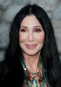 Cher attempts unusual fishnet tights ensemble